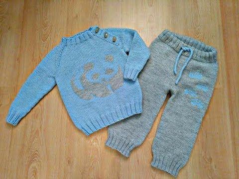 54 детский джемпер пуловер с планкой спицами без швов на любой