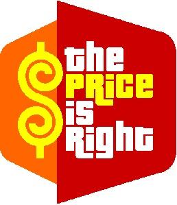 Price is right theme night