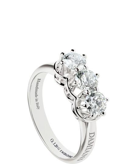 Damiani Ring (diamonds & white gold) - Minou Collection © Damiani