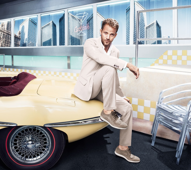 HOGAN Men's Spring - Summer 2013 campaign. A unique combination of classic elegance and contemporary design featuring Stephen Dorff.
