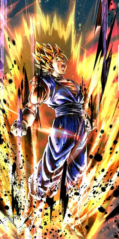 Super Vegito Dragon Ball Painting Dragon Ball Super Manga