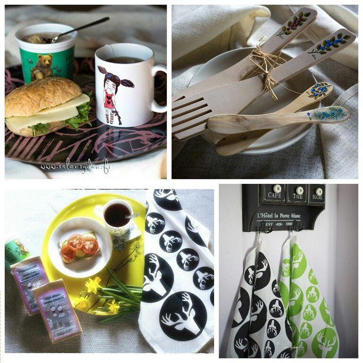 Kaikkea keittiöön #keittiö #kattaus  http://www.salonsydan.fi  Myymme aidosti Suomessa valmistettuja tuotteita!  #madeinfinland #käsityötä #handmade