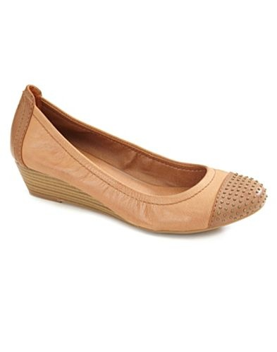 Lucky nude wedges - not a low wedge/flats wearer, but I could def. make these work