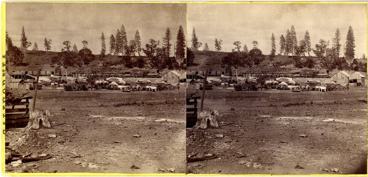 Lawrence & Houseworth Central Pacific Railroad construction photographs, 1866-1868  (17)    http://purl.stanford.edu/pm382dg9681
