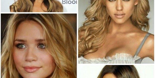 Bal Sarısı Saç Rengi Ve Kül Sarısı Saç Rengindeki Saç Modelleri