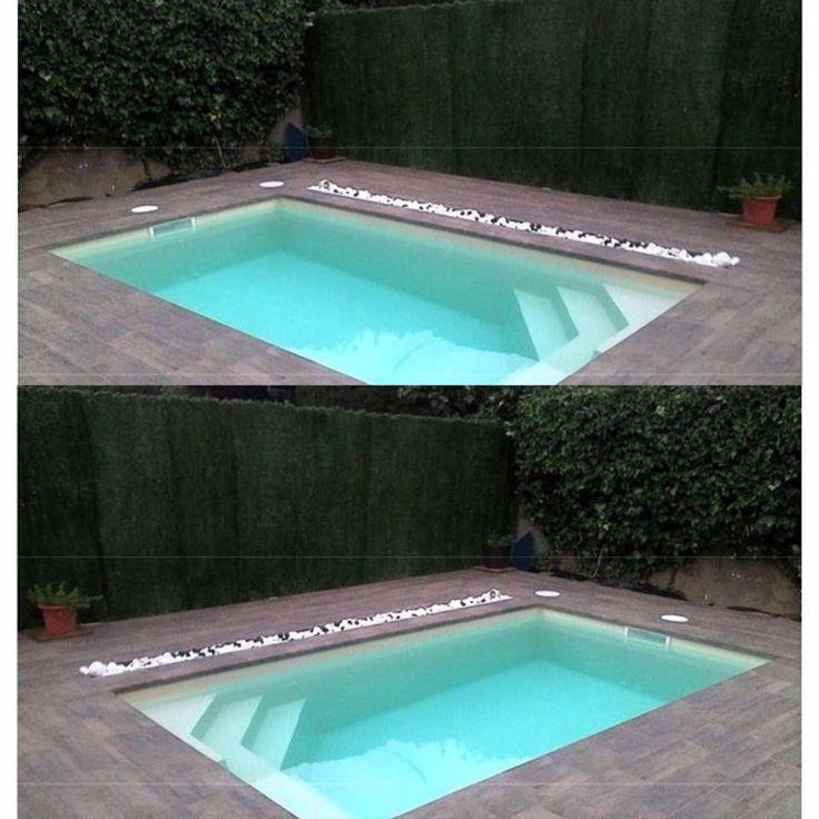 17 meilleures images propos de piscines sur pinterest - Coque piscine carree ...