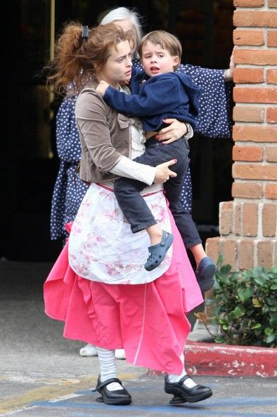 Billy Ray Burton Photos: Helena Bonham Carter And Son Out In Malibu