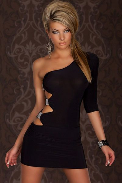 Black club dresses cheap