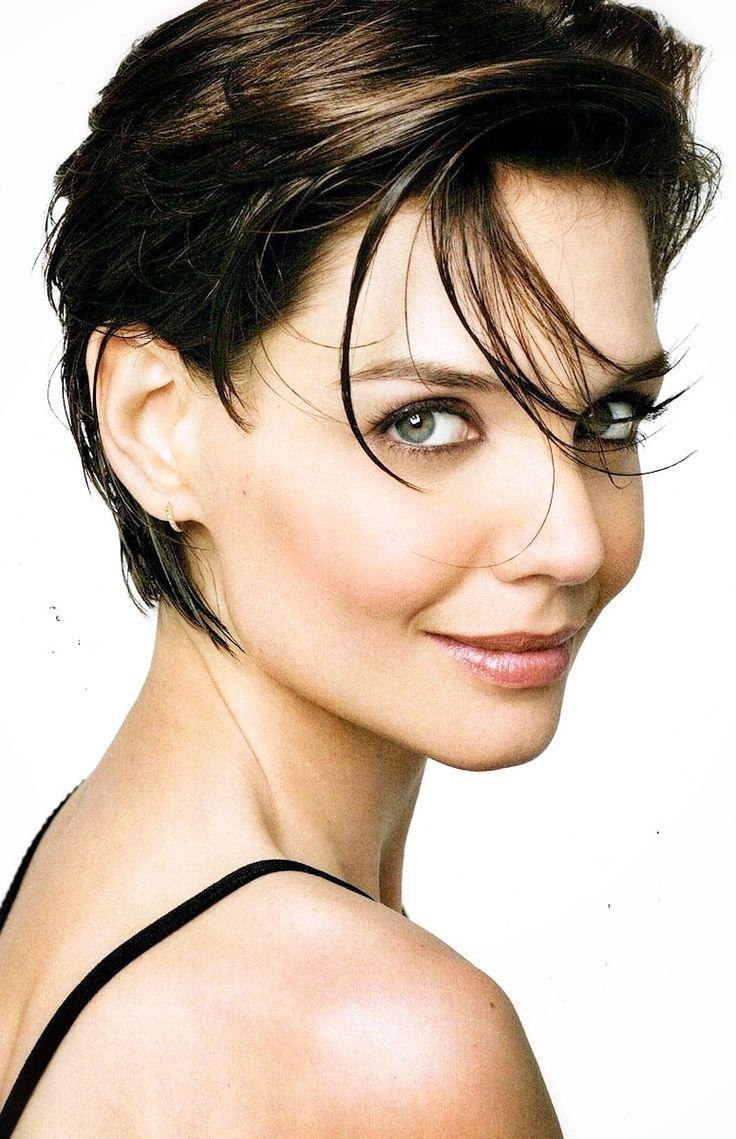 Katie Holmes - great short hair cut: Katie Holmes, Haircuts, Hair ...