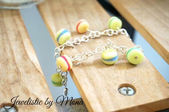 Super cute and charming bracelet with handmade by JewelisticbyMona