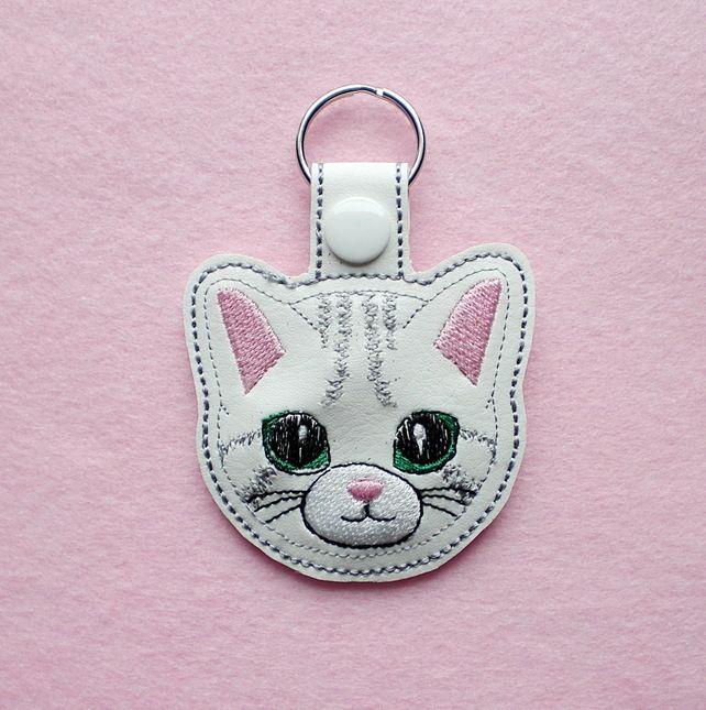 Cat key ring.  £3.50