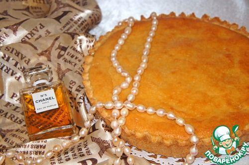 Французский яблочный торт - кулинарный рецепт