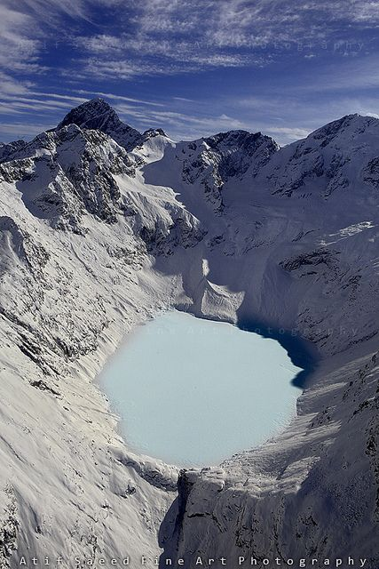 Frozen Lake  Jahazdand,Dir, Pakistan.
