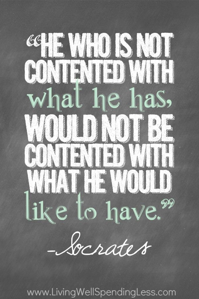 Very true words, contentment is a challenge, but very rewarding. Especially when our children are content.