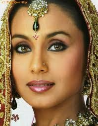 Rani Mukerji...I love her in full makeup and bling.  She's got to be one of the prettiest actresses anytime - anywhere in the world.