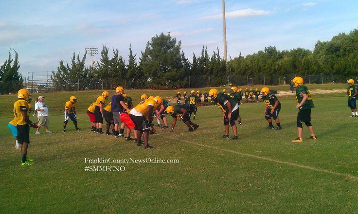 Bunn High School Football Practice Bunn NC