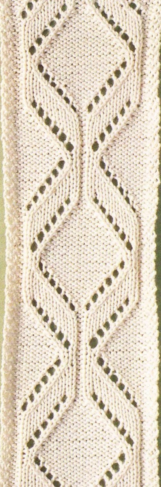 1084 best images about Knit stitches - lace on Pinterest Cable, Lace knitti...