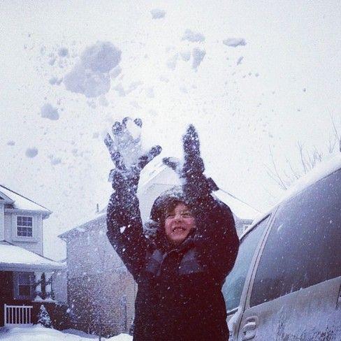 Snow day! // by Debb, Cambridge, ON
