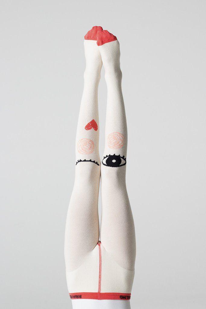 Braveling | Imagine legwear | Queen of Hearts tights