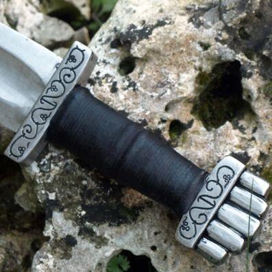 Reproducción de la espada de Ballinderry (Irlanda)  Reproducction of the Ballinderry (Ireland) Sword
