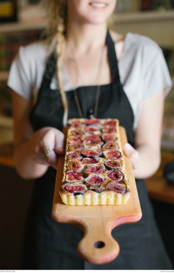 Easy fig tart for dessert. Photography : Tasha Seccombe | Recipe: Ilse van der Merwe