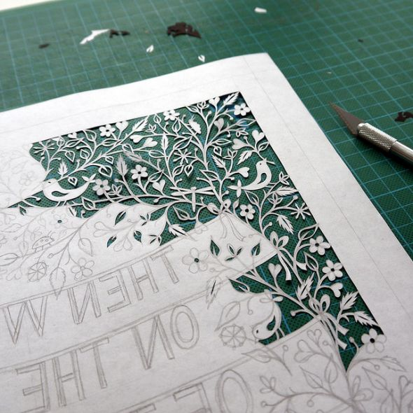 Fantastic site for Paper Cutting art tutorials! SQUIDOO