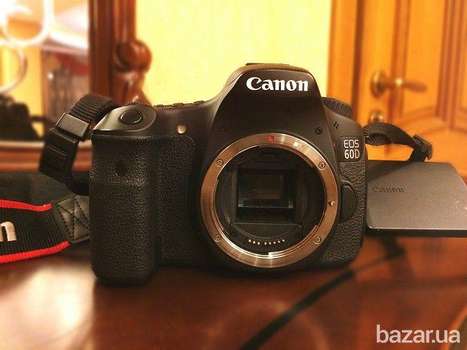 Canon 60d   объектив(50mm1.8), сумочка, карта памяти, зарядное устр. - Цифровые фотоаппараты Винница на Bazar.ua