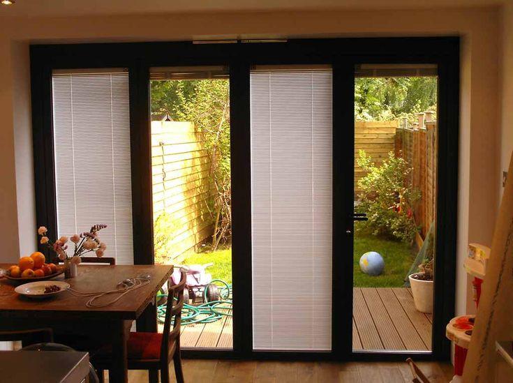 Sliding Patio Doors With Blinds Design Interiors