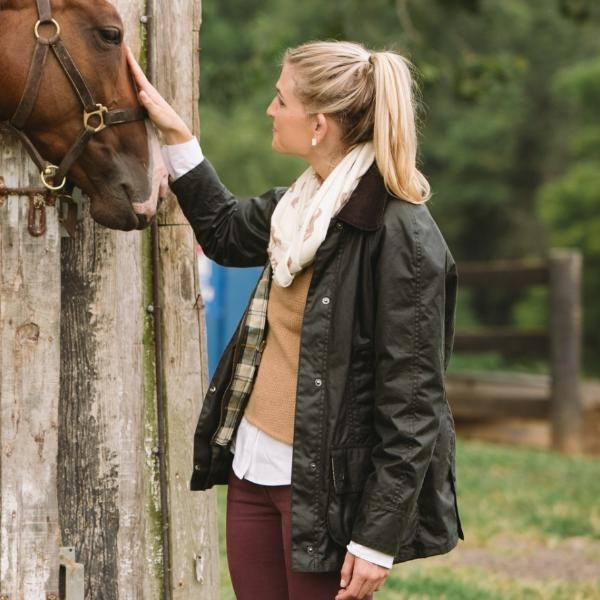 Barbour Sage Beadnell Jacket | Dream Wardrobe