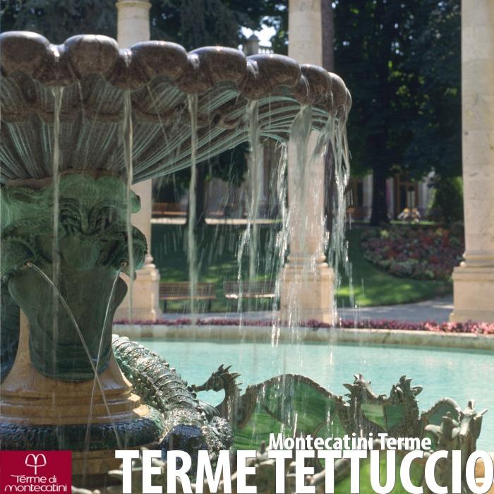 Le Terme Tettuccio di Montecatini Terme.