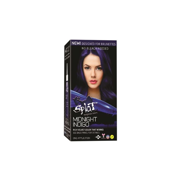 Splat Midnight Hair Color Indigo (Blue) 6.0 oz