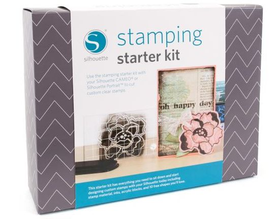 Make your own stamps with the Silhouette cutter! Must see and must have for all silhouette owners