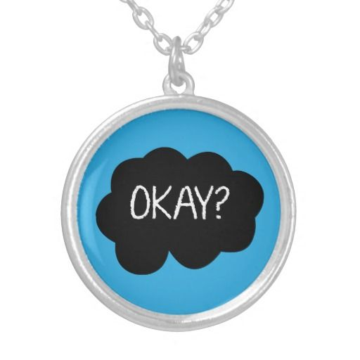 The Fault in Our Stars inspired couple necklace