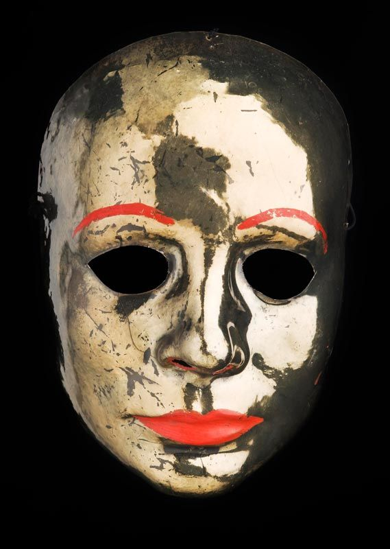 "Mask from the theater play ""The Merchant of Venice"" of William Shakespeare  Deutsches Theater, Berlin, 1985  City Museum Foundation, Berlin, Germany"