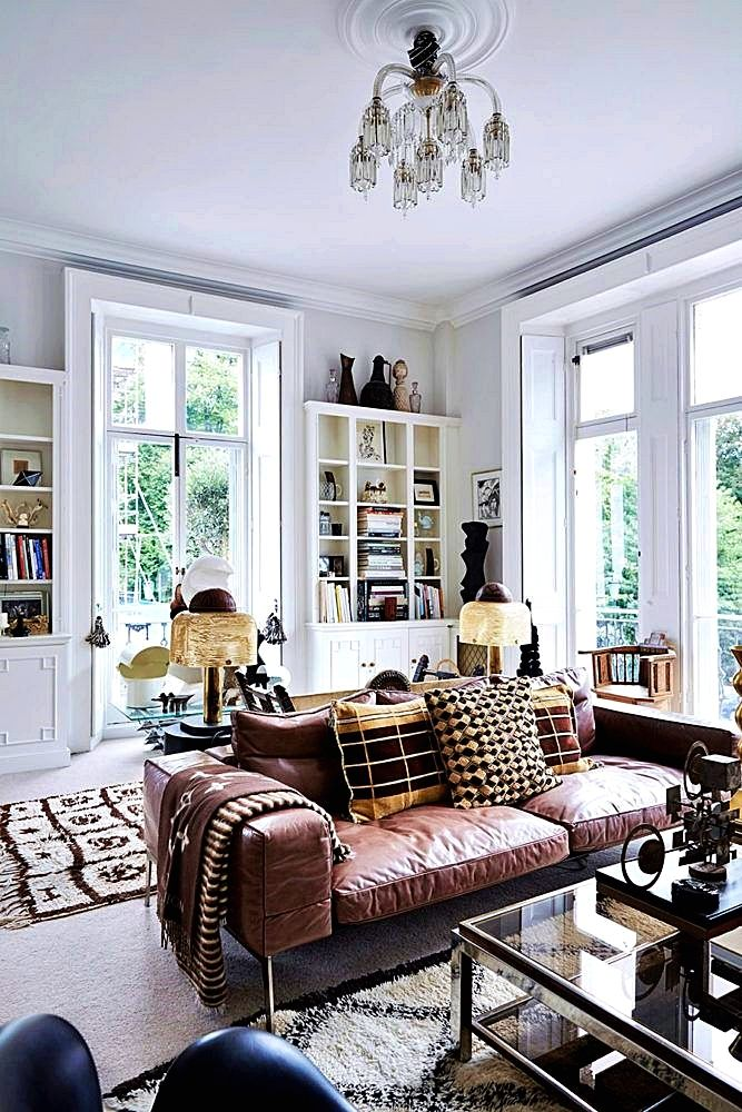 Light Filled Brooklyn Townhouse Living Room Living Room Styles