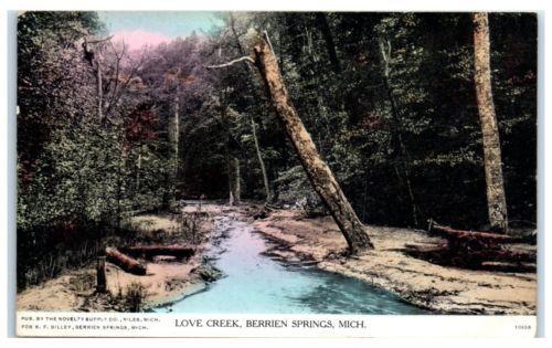 1908-Love-Creek-Berrien-Springs-MI-Postcard