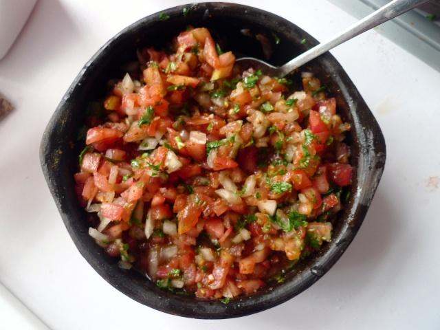 Chancho en Piedra! So yummy topped onto a fresh, hot sopaipilla!!!