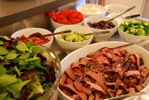 17 best images about salad bar on pinterest nom nom for Bash bash food bar vodice