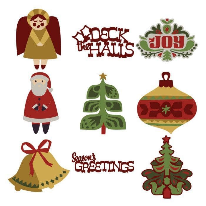 Scandinavian Christmas Cards Digital Set Christmas Cards Scandinavian Christmas Christmas Paper Crafts