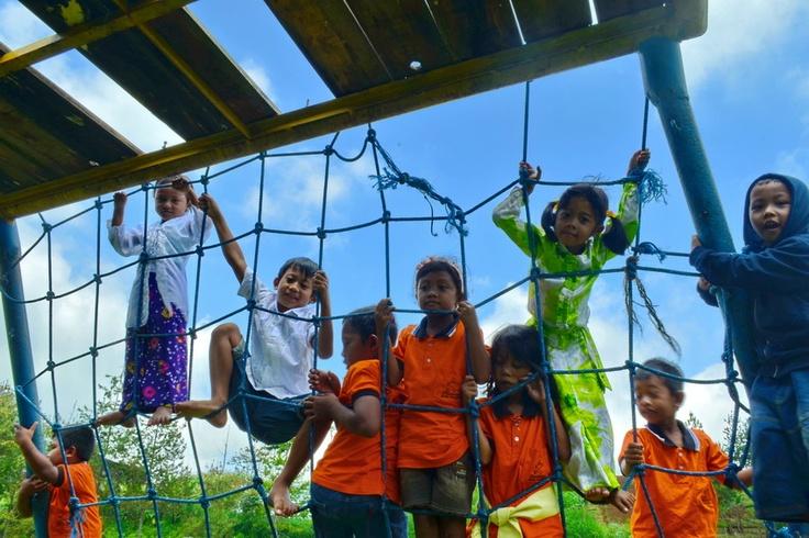 Melasti Lawu #children #play #fun