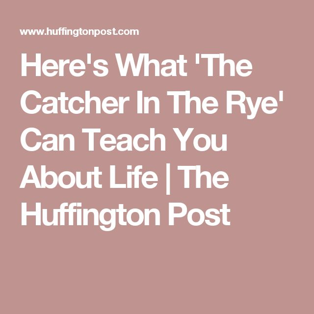 good essay prompts catcher rye Study help essay questions bookmark this page manage my reading list 1 discuss the novel as a and themes with those in the catcher in the rye.