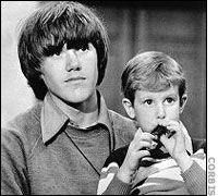 Steven Stayner (L) with Timmy White (R).  Steven was taken captive by a man who told him his parents no longer wanted him; Steven suffered through years of forced sex until the kidnapper brought White home with him, at which point Steven went to the police at last.  What a tough, tough kid.