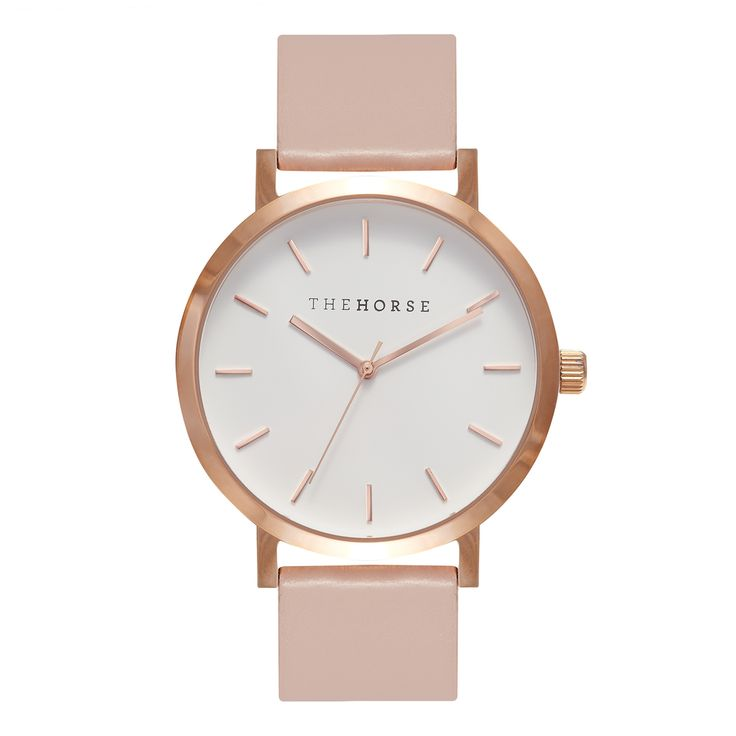 SHOP - because what girl wouldn't love a rose gold watch with a blush strap - Workshop