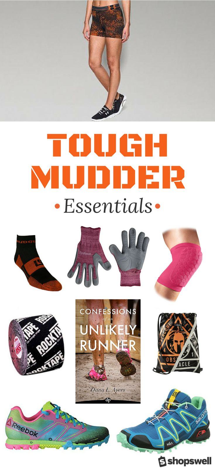 From shoes to gear and the fuel to get you to the finish line - this collection has everything you need for your Tough Mudder race day.