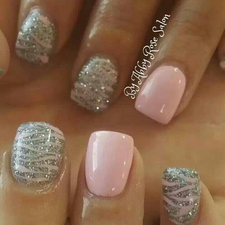 Pink shellac   See more at http://www.nailsss.com/colorful-nail-designs/2/