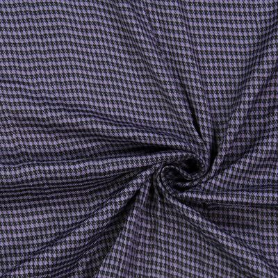 Crash kohoutí stopa - Polyester - Viskóza - modrofialková