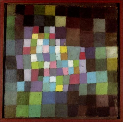 Abstraction with Reference to a Flowering Tree - Paul Klee  1925