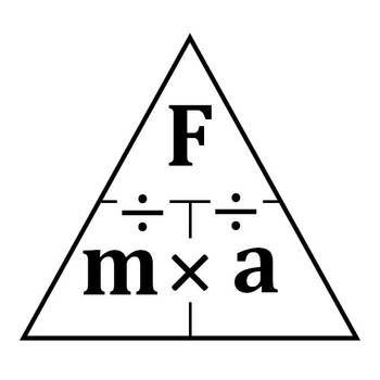science journal force triangle clipart science for