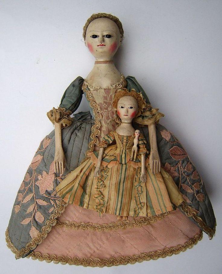 antique handmade doll