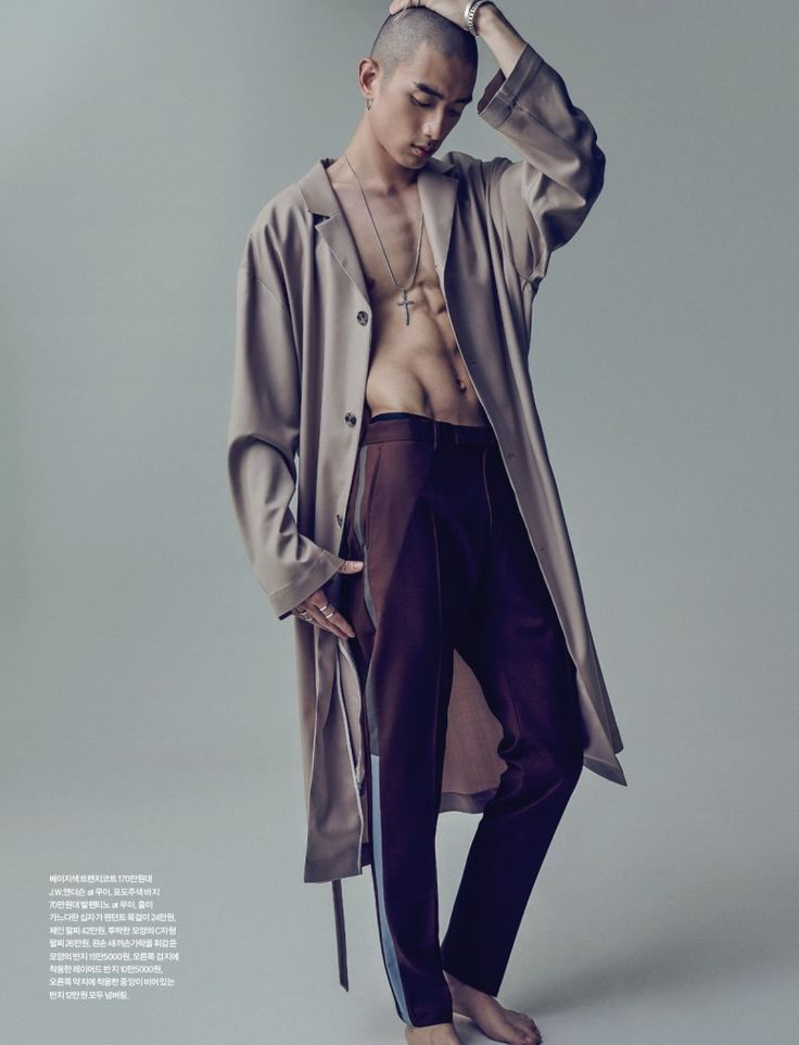 Sung Jin Park Goes High Fashion for Esquire Korea Shoot